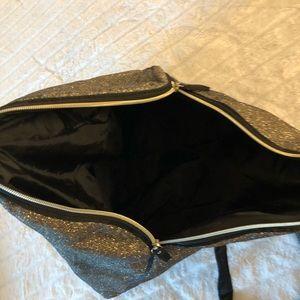 Victoria secret gold bag
